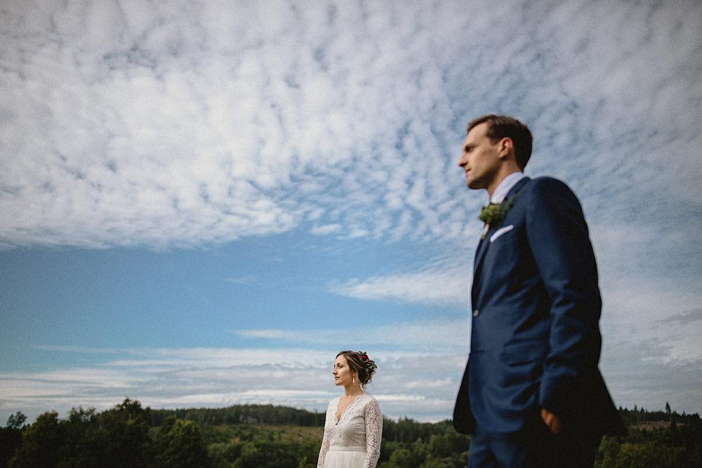 Wedding portraits Norrland