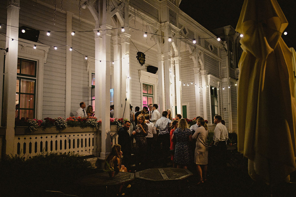 St Petri Logen by night
