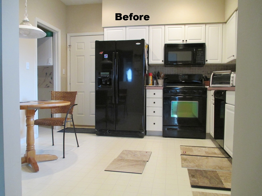 Bill & Ann's Luxury Tile Kitchen — Elizabethtown Flooring ...