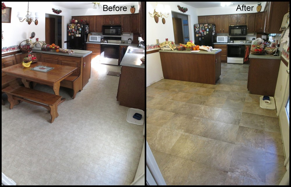 Luxury Vinyl Tile (Mannington Adura Dakota Prairie AT322)