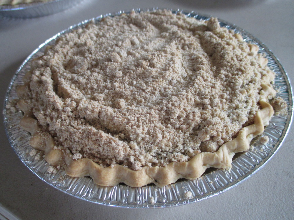 Chocolate Shoofly Pie - Luscious, Sweet, & Savory, one bite at a time.
