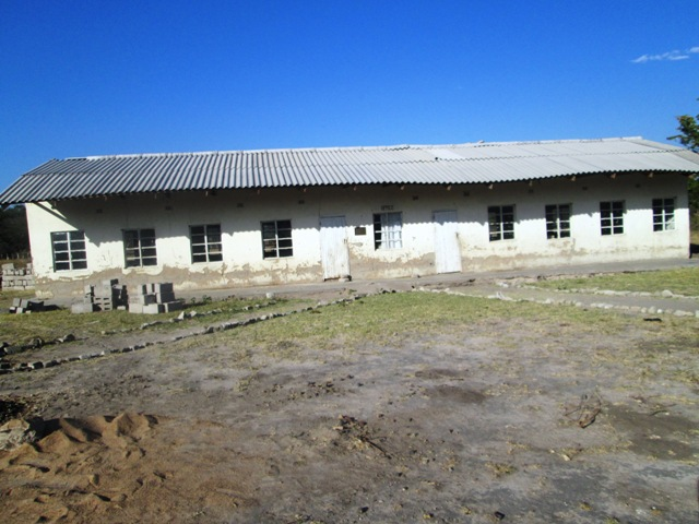 At the Sihazela Junior School, the roof trusses were eaten by termites and faced imminent collapse.  The block was irreparable.