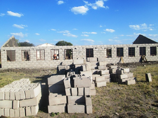 Ziga Junior School construction began in 2013.  The school needed a new classroom block, as well as teacher housing.