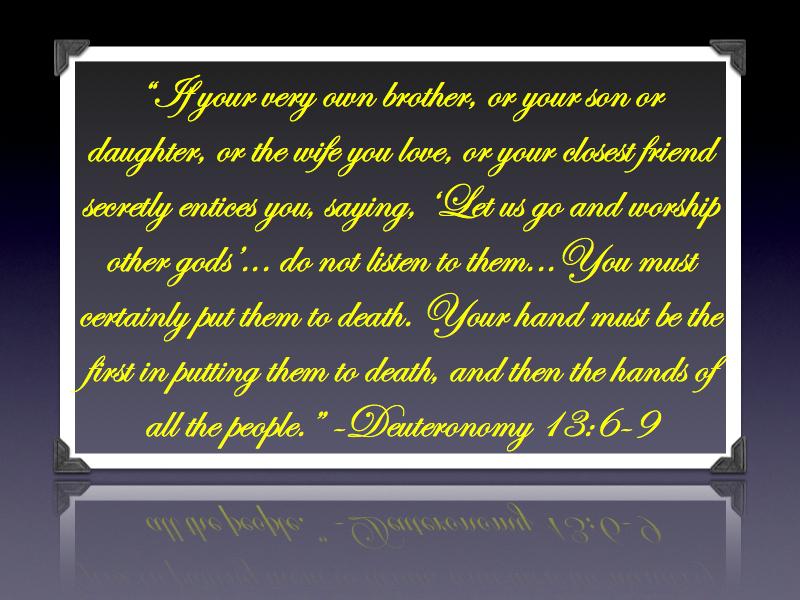 Deuteronomy 13.6-9.001
