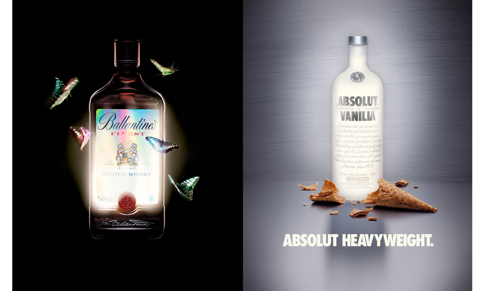 Ballentine's -   Absolut;    TBWA Chiat Day