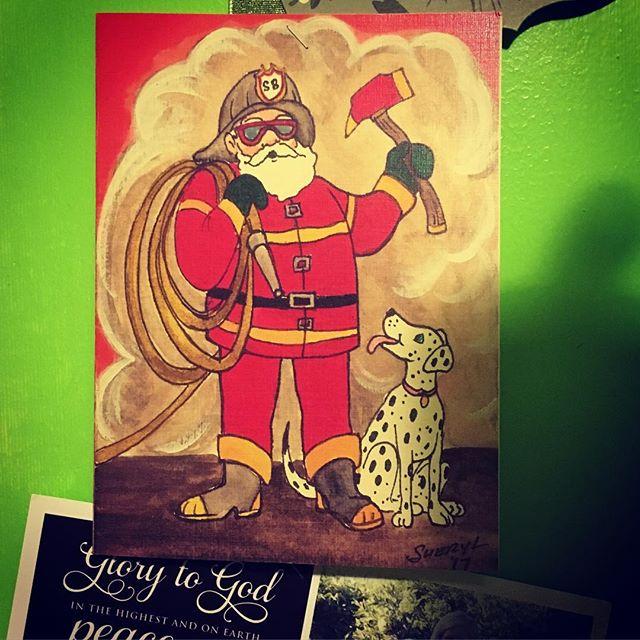 Great Christmas card Sheryl! @schroederville_art @schroederville