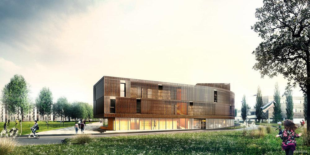 Foyer Jeunes Travailleurs Architecture : Foyer pour jeunes travailleurs reims fhy — mekene images