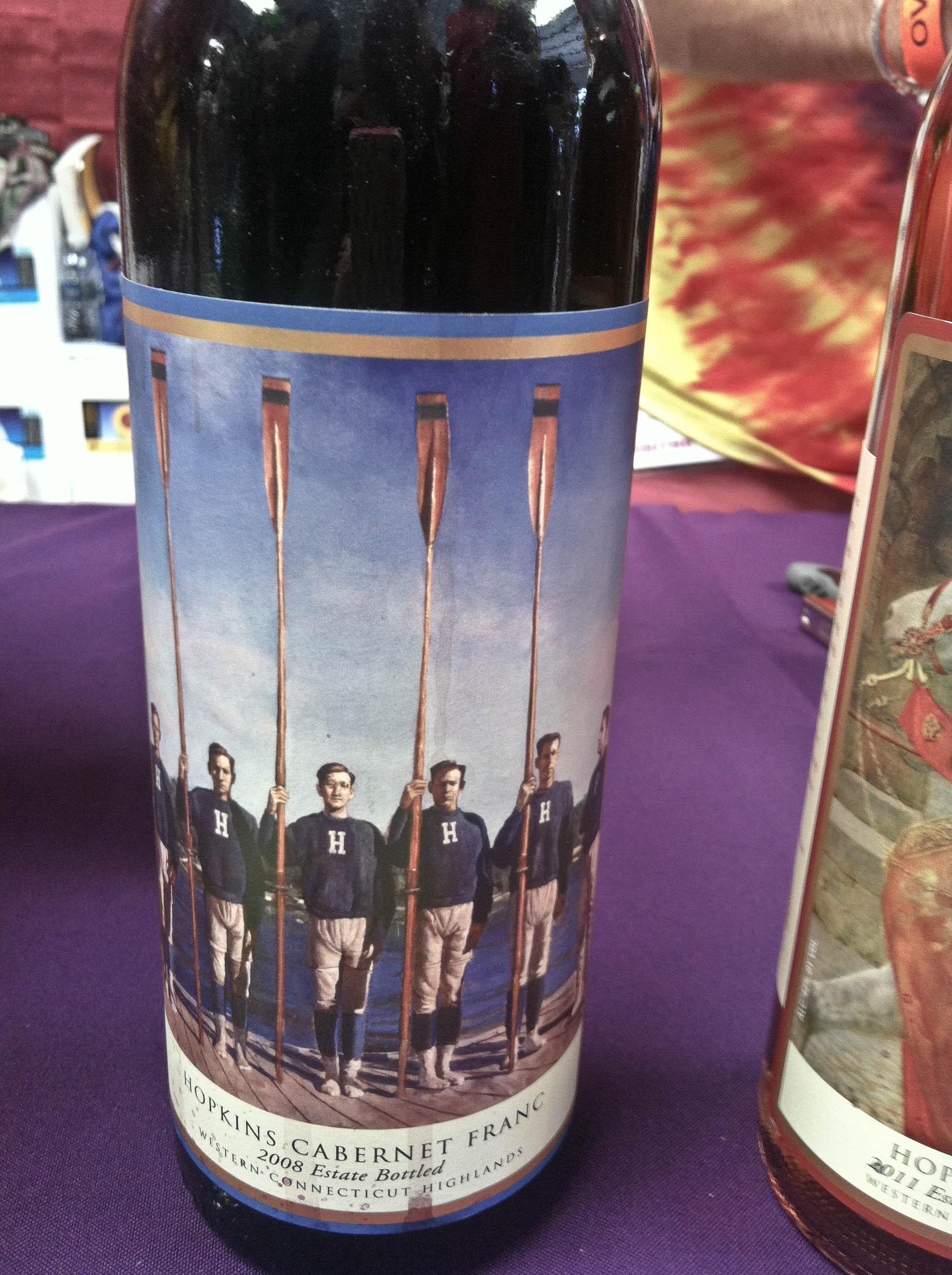 rowers wine label