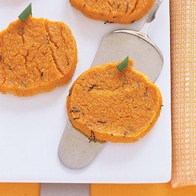 pumpkin polenta pumpkins