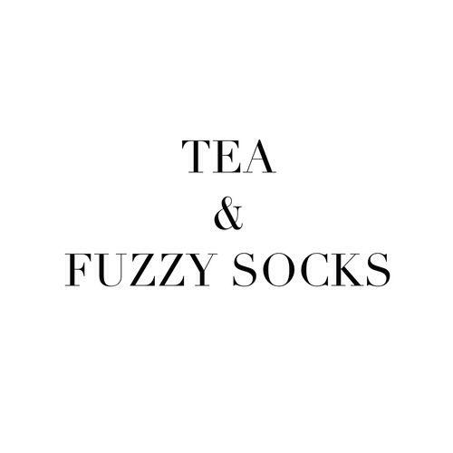 tea and fuzzy socks