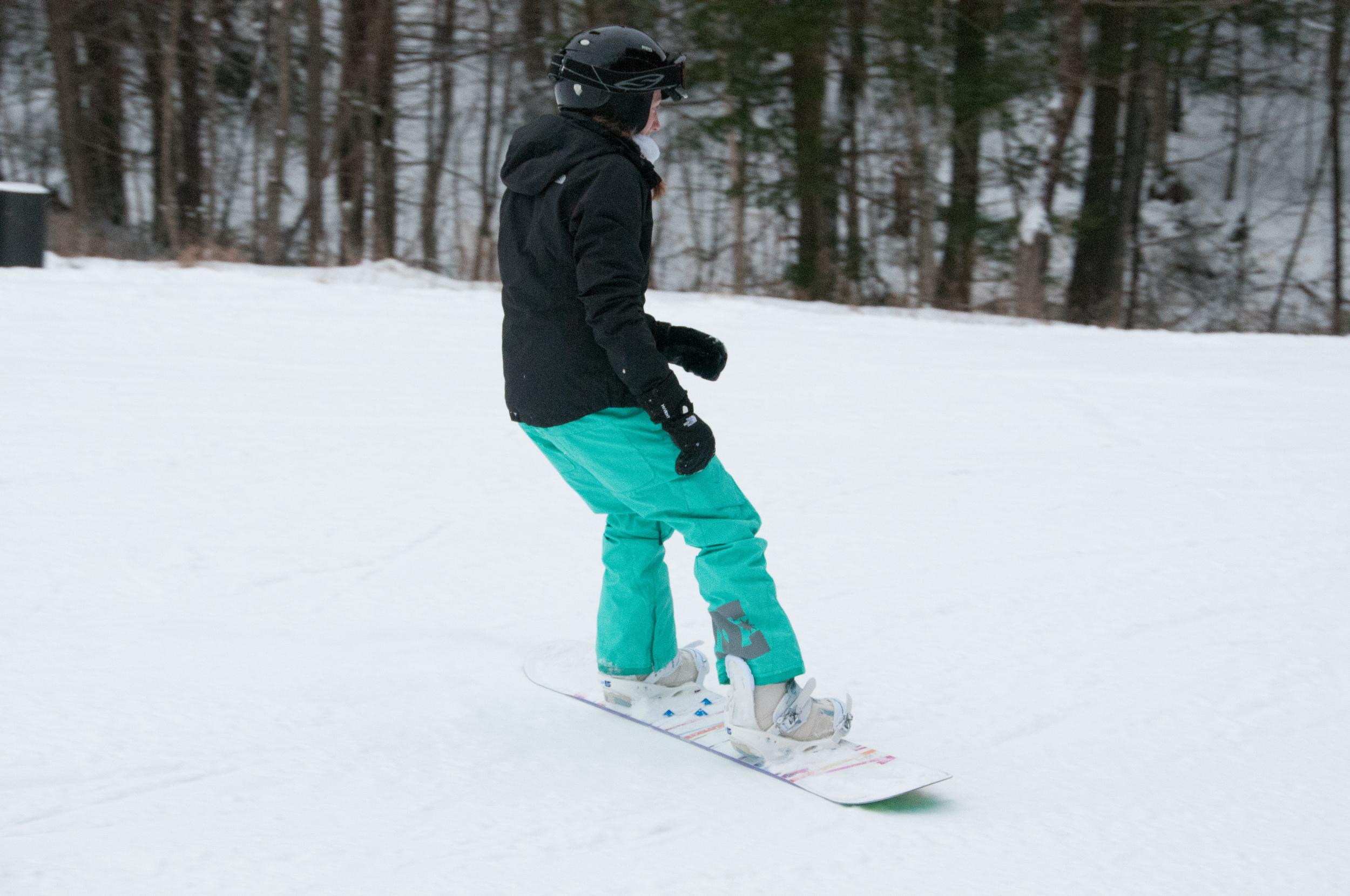 amy snowboarding