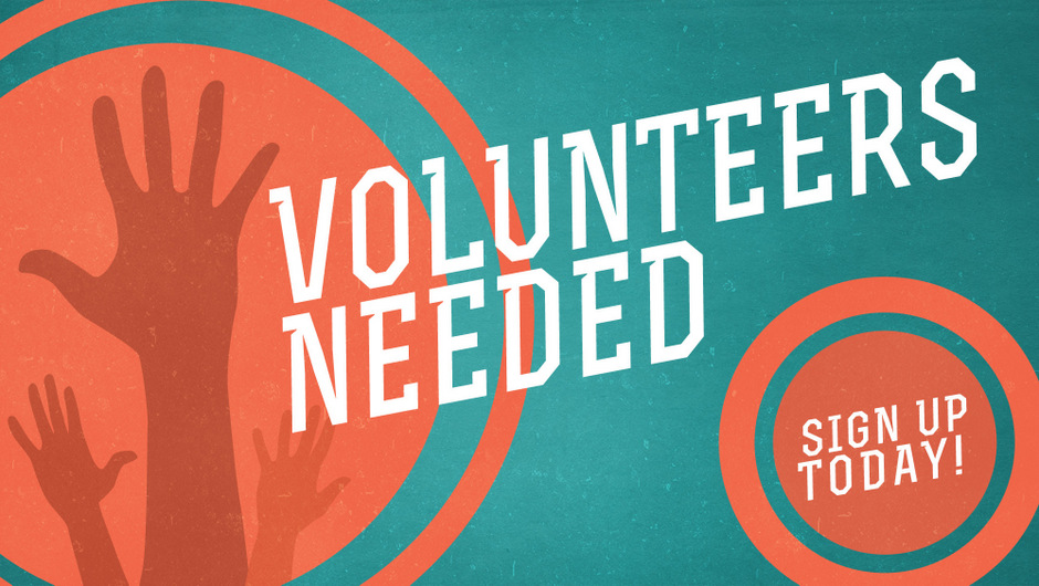 Contact the church office for volunteer opportunities.