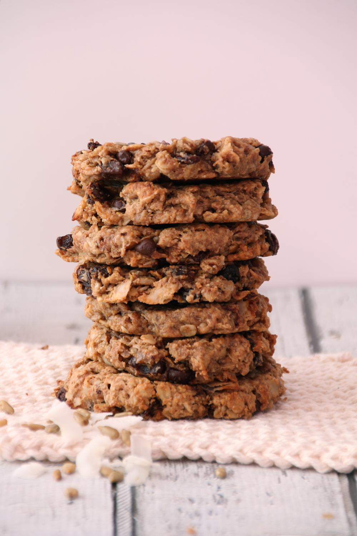 Peanut Butter Trail Mix Cookies   Sweet Talk
