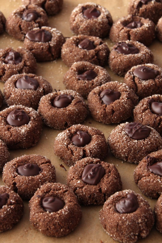 Chocolate Thumbprints // Sweet Talk
