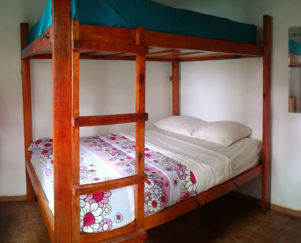 Single Dorm Bed:  $14/nt (1 person) Double Dorm Bed: $16/nt (1 person), $24/nt (2 persons)