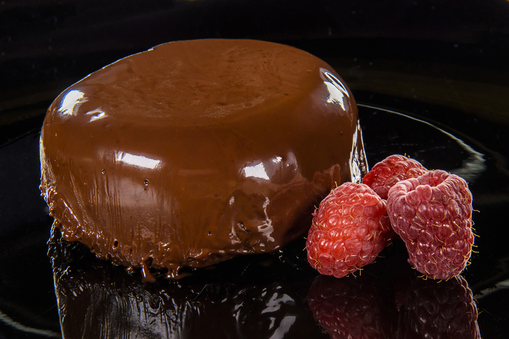 Chocolate Rasberry Truffle Cake