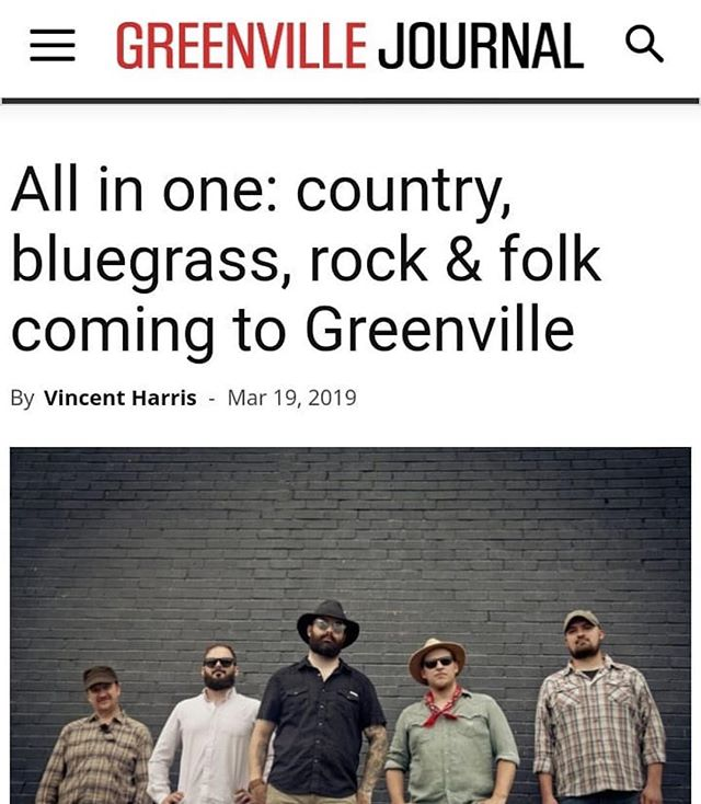 #Repost @vincentharrismusicwriter with @get_repost ・・・ Talking to @fsrevival for the @gvljournal about their genre-hopping sound. Catch them at @gottrocks864 this weekend!  Link is in the bio!