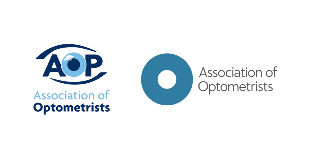 The old and new AOP logos