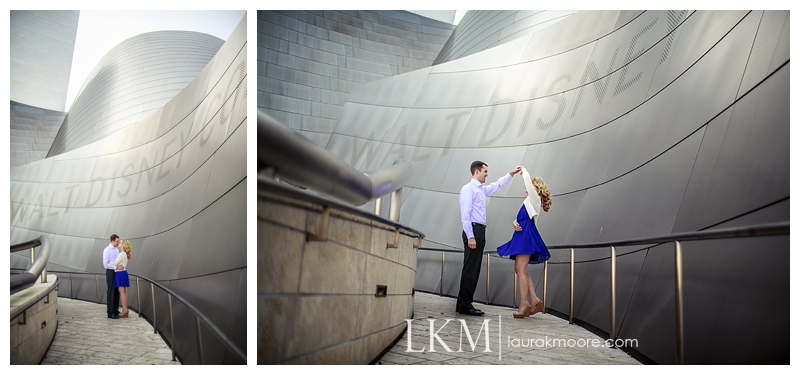 Downtown-Los-Angelas-Engagement-Session-Walt-Disney-Concert-Hall-Laura-K-Moore-Photography_0020