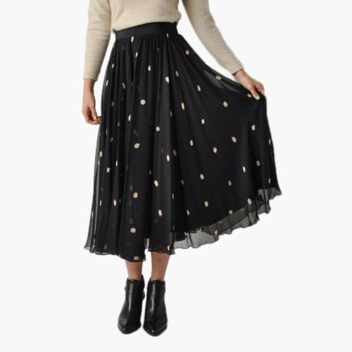 Vintage Silk Full Skirt // Maven Vintage