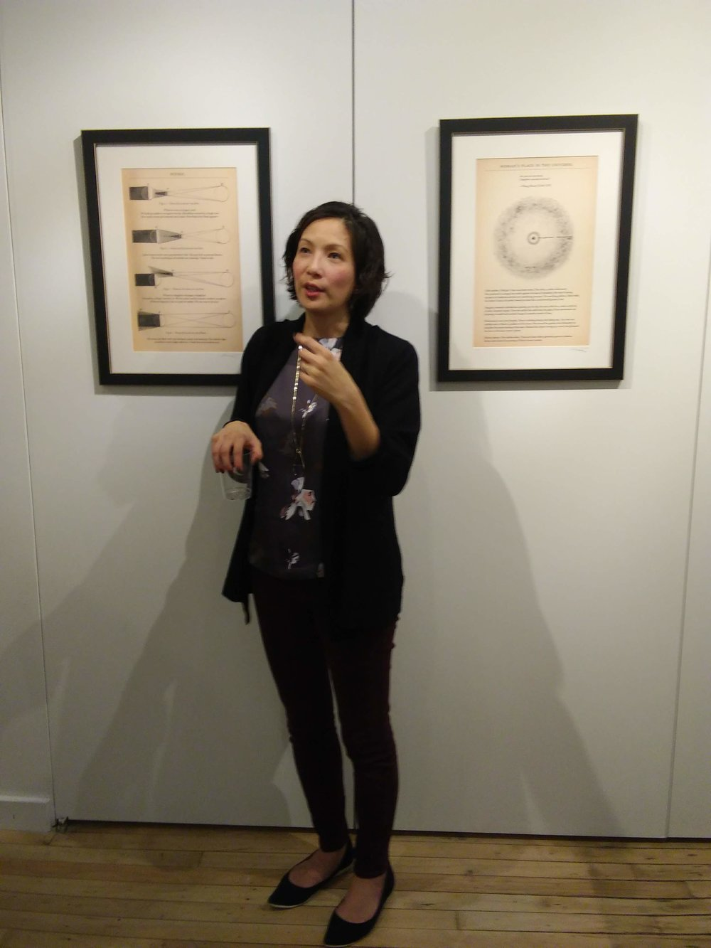 Monica's Artist Talk