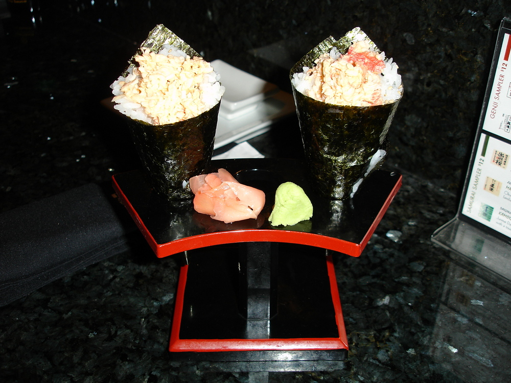 King Crab Hand Roll
