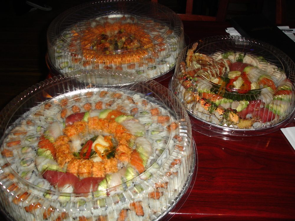 Sushi Catering Trays