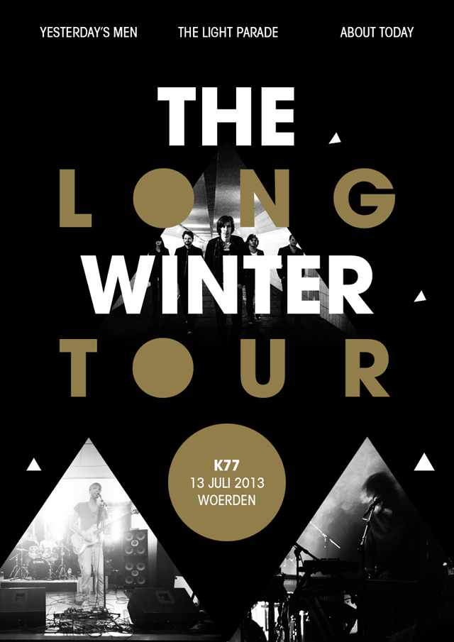 The Long Winter Tour  affiche
