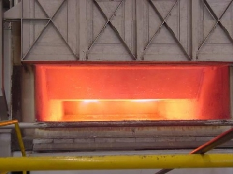 Reverb furnace photo supplied by Schaefer Furnaces Division of The Schaefer Group, Inc.