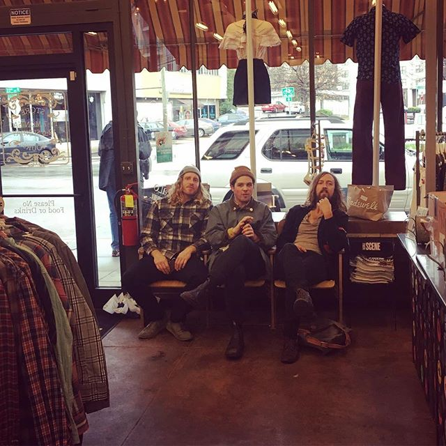We went on a little shopping spree in Nashville today! Come see our sweet new threads tonight @thebasementnash. Show starts at 9