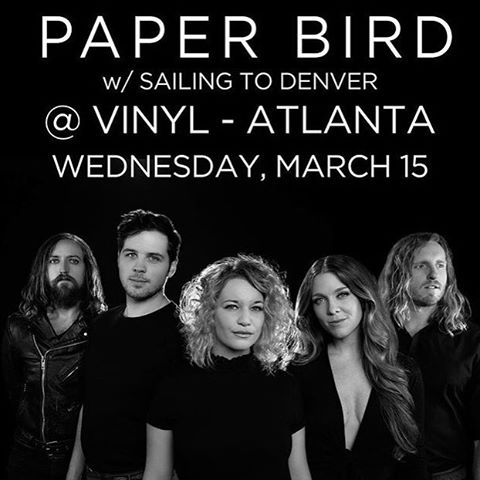 Hey Atlanta! We are so happy to be back in your sweet city. Please come hang out with us tonight! Show starts at 8!