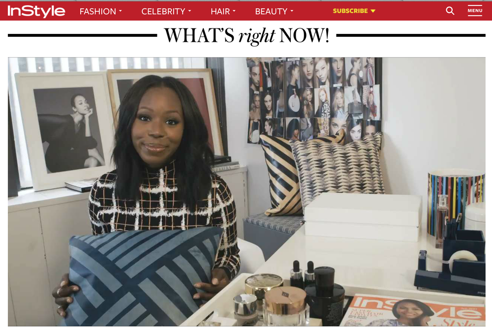 From - I'm Obsessed, a new daily video series with Kahlana Barfield, InStyle's fashion and beauty editor at large.  -June 2015