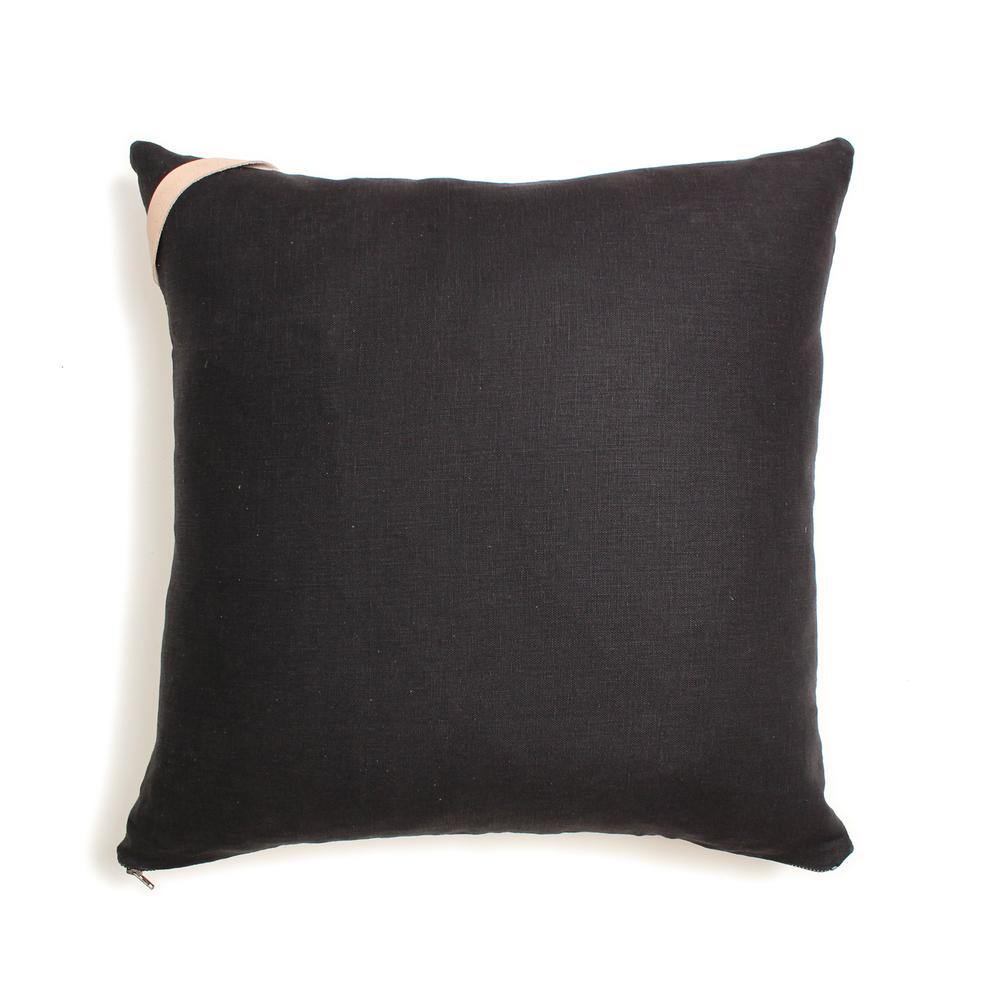 Black Linen Reverse