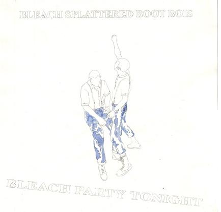"Beach Splattered Boot Bois- 7"" Cover Art by Jacob Rhodes"