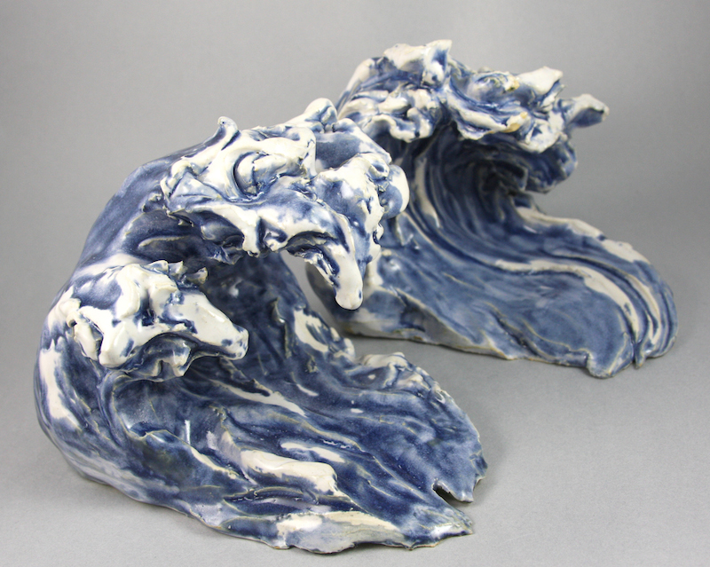 From the Tidal Series by Dan Halm | Ceramic | Various Sizes