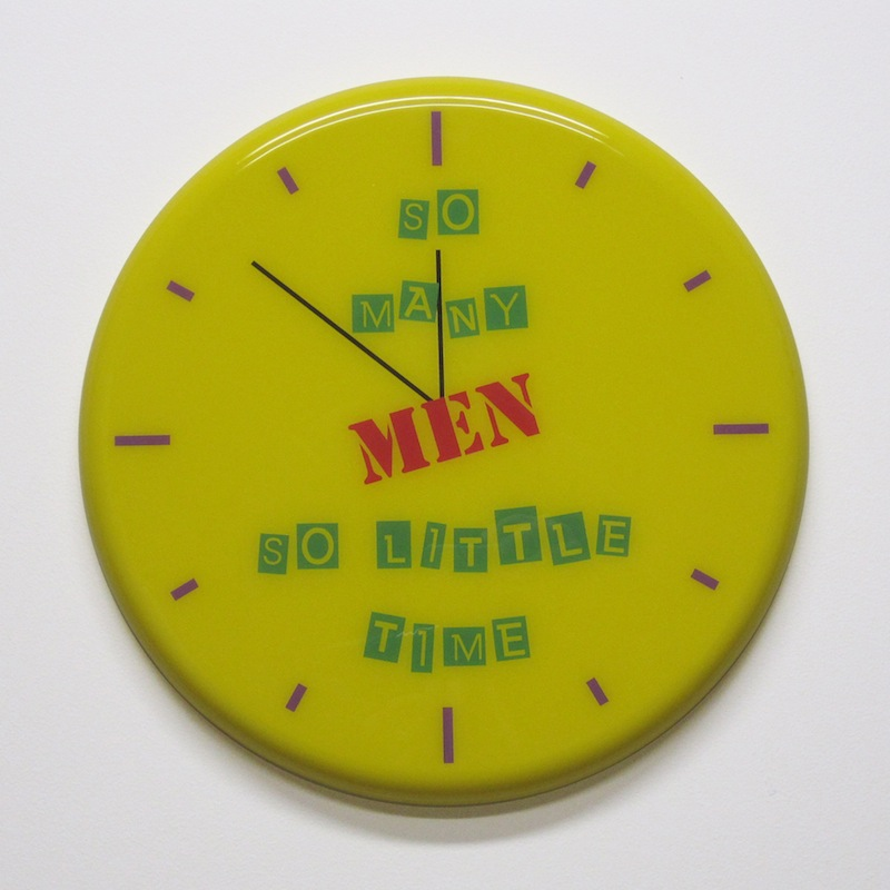 "So Many Men by Jay Kaplan | MDF, Enamel, Vinyl, Resin | 14.5"" (available individually or as installations)"