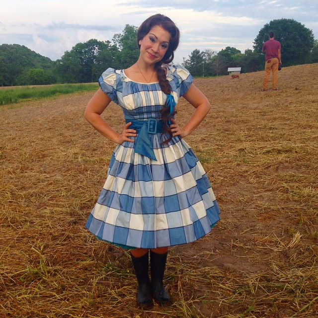 diana degarmo will head home for the wizard of oz look at her