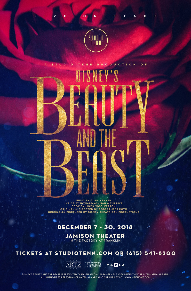 ST Beauty and the Beast Belle Poster 2