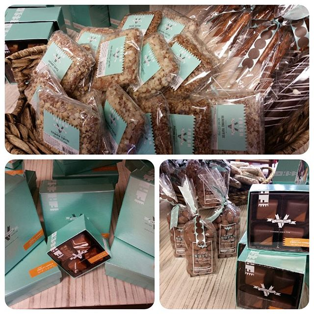 We now carry V's Chocolate.  Carmel Apple too!