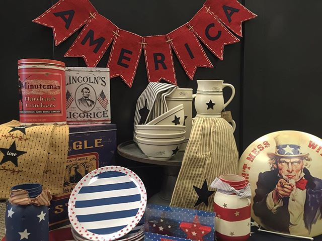 OH SAY CAN YOU SEE... America's Birthday Is Coming Up! Do You Have Everything You Need To Celebrate In  RED, WHITE AND BLUE?  JUNE 25th-JULY 2nd  All STAR SPANGLED Items On Sale  30% off!  #sale #4thofjuly #giftideas #summertime #gifts #thestorestuff #utah #utahgram #utahlocalshop #thestorefinefoods #giftshop #accessories