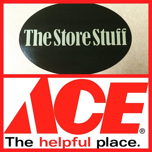 Did you know The Store Stuff has teamed up with Holladay ACE Hardware!? You can sign up for Ace Rewards and receive points at  BOTH locations. You can also Use your Ace Cash Reward Coupons in  The Store Stuff! Also while you're here don't forget to sign up with our email to get our The Store Stuff promotions and deals!