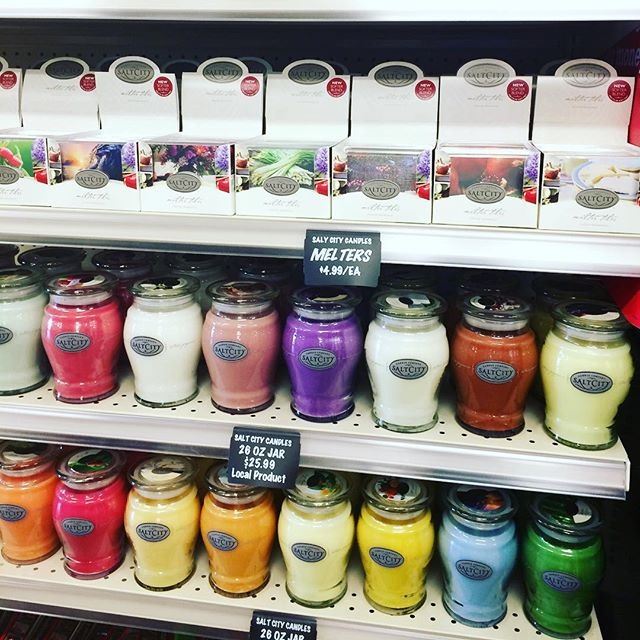 The Store Stuff is now carrying SALT CITY CANDLES!!! Come get your favorite scent at 30% off.  July 30th thru August 6th.  RUN!! Don't miss out!!!! 😊😋