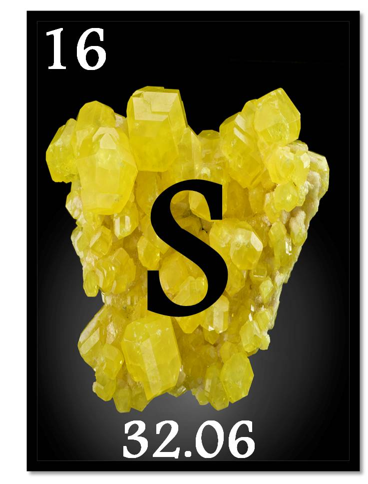 Sulfur is the foundation of research in the Musah.