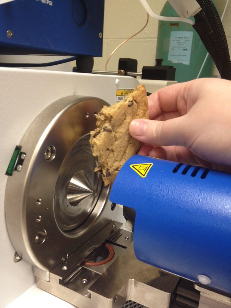 DART-MS instrument enables analysis of complex samples-like a cookie!