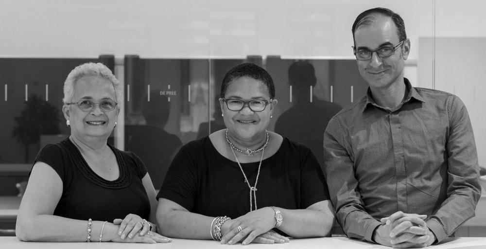 LMNOP Leadership: From left to right: Michelle Hill, Jennifer Graham, John Roberts