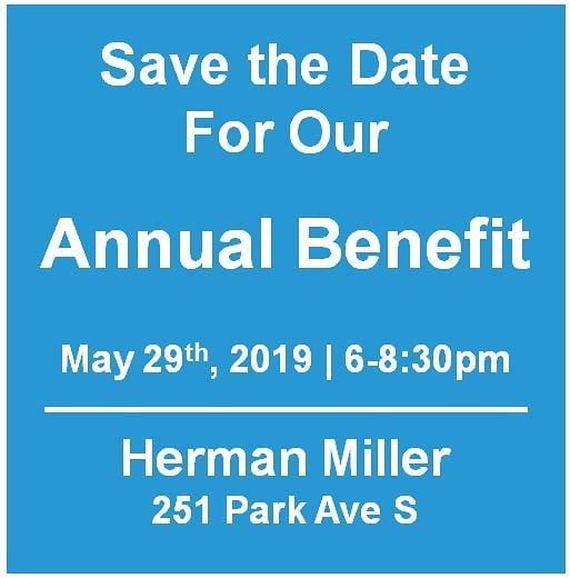 Be sure to save the date for the 2019 LMNOP Annual Benefit and Silver Celebration! #lmnopnyc #hermanmiller #silver
