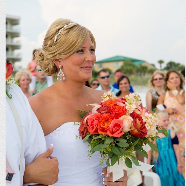 Photo by: Tay Gray Photography #floridaweddings #florida #beachweddings  #nancyhayesweddings