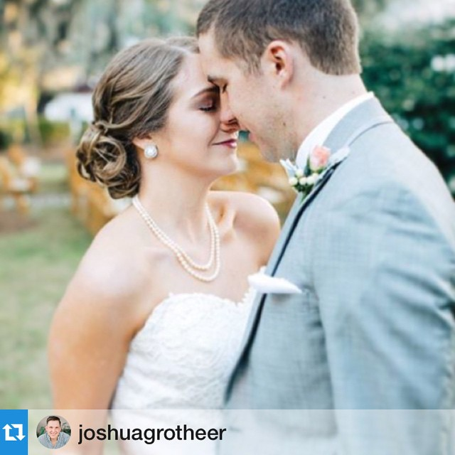 #Repost Fabulous designs by @joshuagrotheer with @repostapp.・・・Congratulations to Paige + Aaron on getting hitched!  Photo courtesy of @carolineroro with @carolinerophoto  #VisitSavannah #SavannahWedding #WedSavannah #weddings