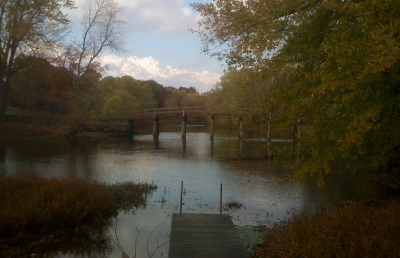 The Old North Bridge, Concord, Massachusetts (photo by Steven Takasugi)