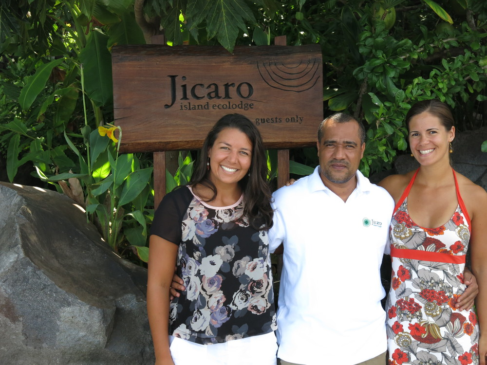 With Howard Coulson, General Manager of Jicaro Island Ecolodge, Nicaragua
